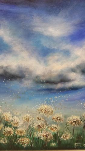 Primavera - Olio su tela - 50x60