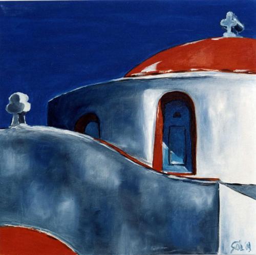 Serie Mediterraneo - Olio su tela - 50x50