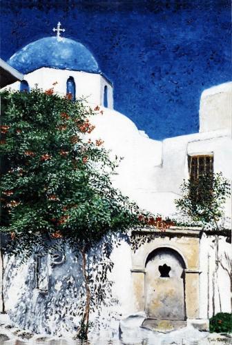 Serie Mediterraneo - Olio su tela - 50x70