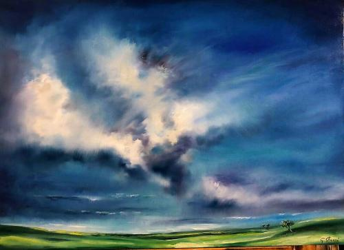 Vivere e Rinascere 2 - Olio su tela - 50x70